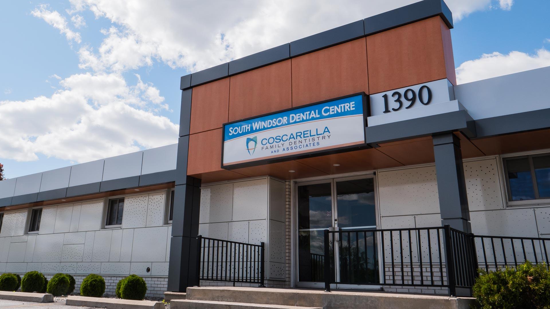 Coscarella Dentistry Outdoors