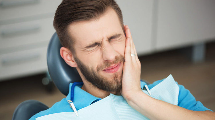 Tooth Pain Male Dentist