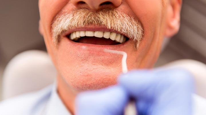 Old Man at Dentist