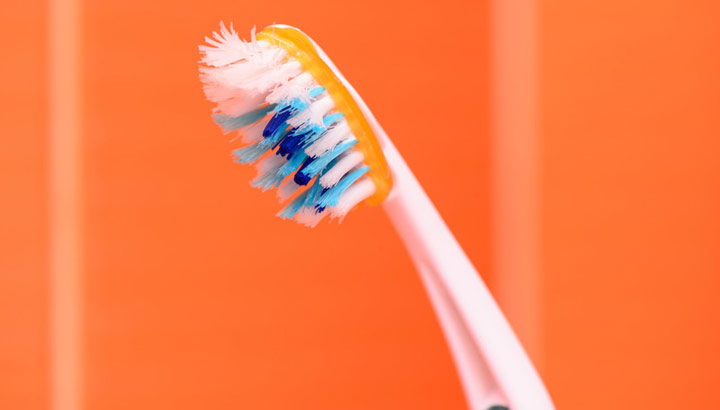 how to fix an old toothbrush