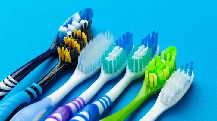 hard brustle toothbrush